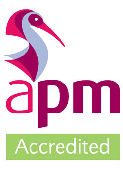 APM Accredited Logo