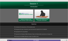 e-Learning for BA Example 1